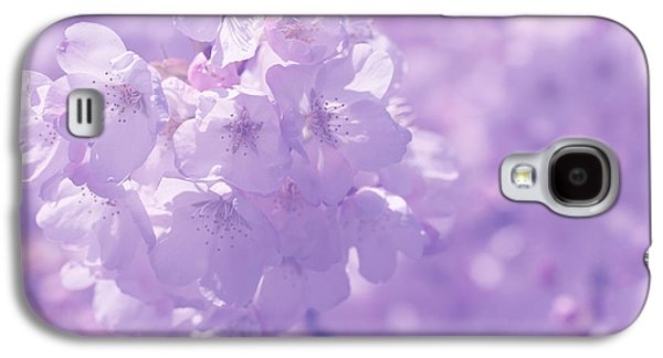 Contemplative Photographs Galaxy S4 Cases - Romancing The Springtime Galaxy S4 Case by Connie Handscomb
