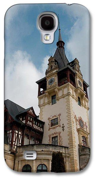 Romania Transylvania Sinaia Peles Castle Galaxy S4 Case by Inger Hogstrom