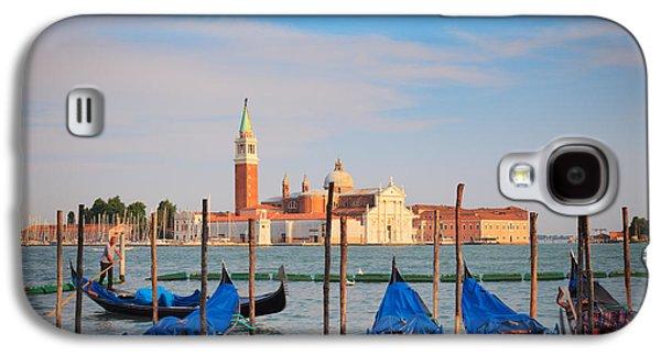 San Marco Galaxy S4 Cases - Romantic Gondolas Galaxy S4 Case by Inge Johnsson