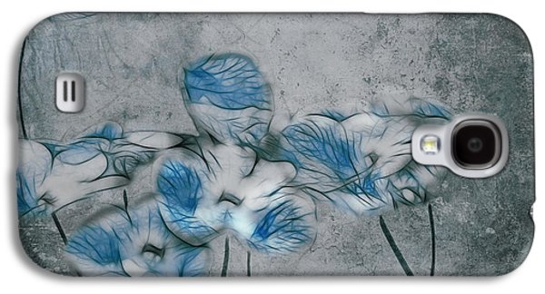 Texture Floral Galaxy S4 Cases - Romantiquite - 02a Galaxy S4 Case by Variance Collections