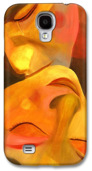 Expressionism Galaxy S4 Cases - Romeo and Juliet Galaxy S4 Case by Hakon Soreide