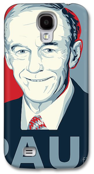 Libertarian Party Galaxy S4 Cases - Ron Paul Galaxy S4 Case by John Lehman
