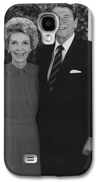 Ronald Reagan Galaxy S4 Cases - Ronald And Nancy Reagan Galaxy S4 Case by War Is Hell Store