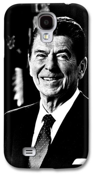 Ronald Reagan Galaxy S4 Cases - Ronald Reagan Galaxy S4 Case by Benjamin Yeager