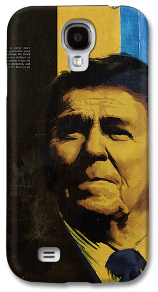Ronald Reagan Galaxy S4 Case by Corporate Art Task Force
