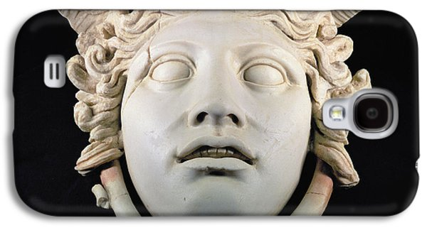 Rondanini Medusa, Copy Of A 5th Century Bc Greek Marble Original, Roman Plaster Galaxy S4 Case by .