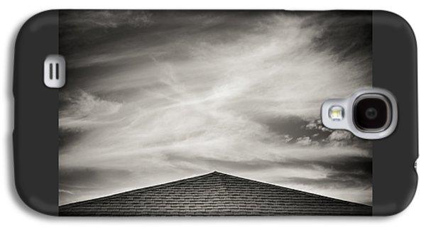 Rooftop Galaxy S4 Cases - Rooftop Sky Galaxy S4 Case by Darryl Dalton