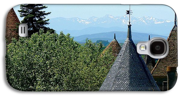 Cathar Country Galaxy S4 Cases - Rooftops of Carcassonne Galaxy S4 Case by France  Art