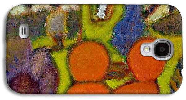 """""""indoor"""" Still Life Paintings Galaxy S4 Cases - Room with Chairs Galaxy S4 Case by Chiho Yoshikawa"""