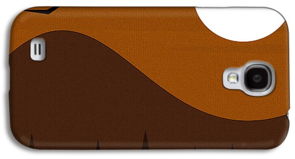 Color Block Galaxy S4 Cases - Roost Galaxy S4 Case by Val Arie