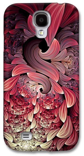 Youthful Galaxy S4 Cases - Rooster Abstract Galaxy S4 Case by Georgiana Romanovna