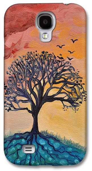 Roots And Wings Galaxy S4 Case by Cedar Lee