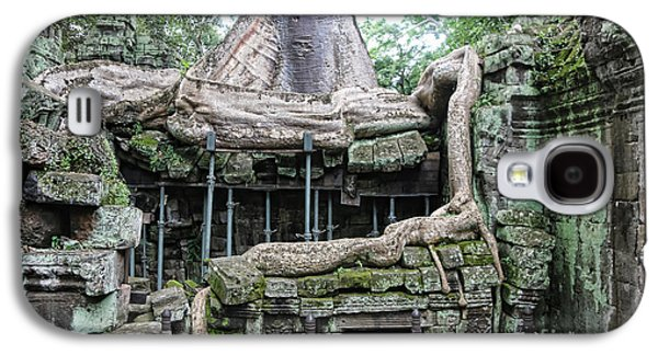 Tree Roots Galaxy S4 Cases - Roots Ta Prohm II Galaxy S4 Case by Chuck Kuhn