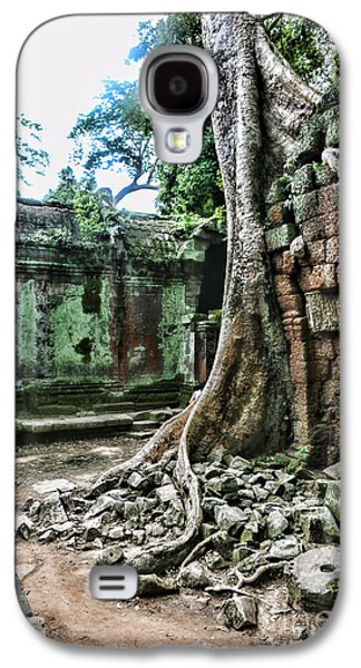 Tree Roots Galaxy S4 Cases - Roots Ta Prohm IV Galaxy S4 Case by Chuck Kuhn