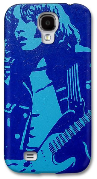Singing Paintings Galaxy S4 Cases - Rory Gallagher Galaxy S4 Case by John  Nolan
