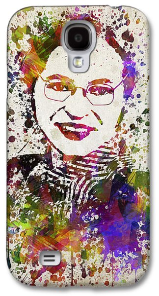 African-american Galaxy S4 Cases - Rosa Parks in Color Galaxy S4 Case by Aged Pixel