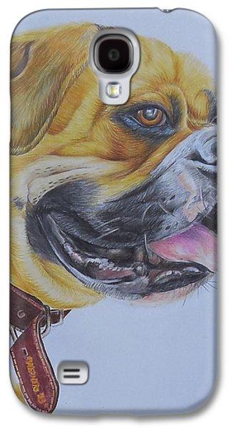 Boxer Galaxy S4 Cases - Roscoe the Boxer Galaxy S4 Case by Golanv  Waya