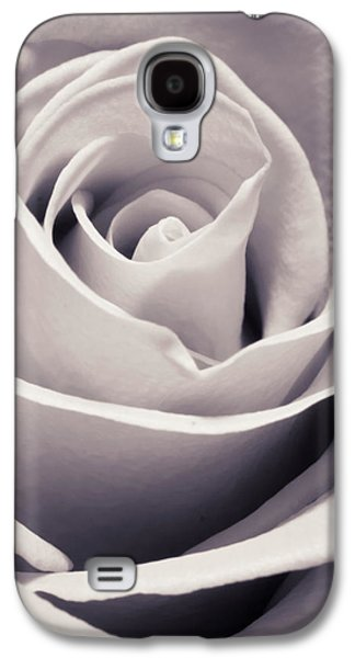 Close Up Floral Galaxy S4 Cases - Rose Galaxy S4 Case by Adam Romanowicz