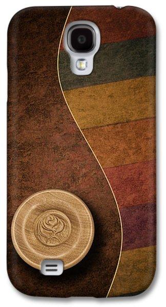 Contemporary Art Photographs Galaxy S4 Cases - Rose Button Galaxy S4 Case by Tom Mc Nemar