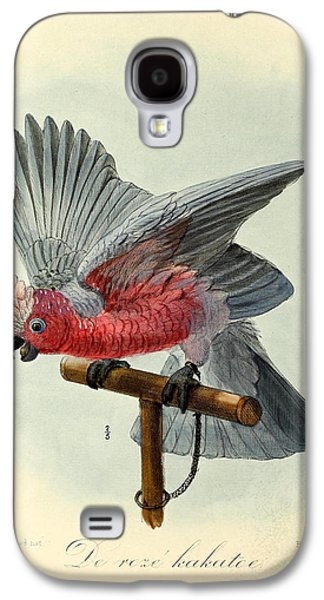 Rose Cockatoo Galaxy S4 Case by J G Keulemans