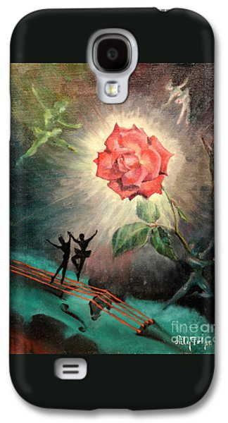 Dance Ballet Roses Galaxy S4 Cases - Rose Concerto  1941 Galaxy S4 Case by Art By Tolpo Collection