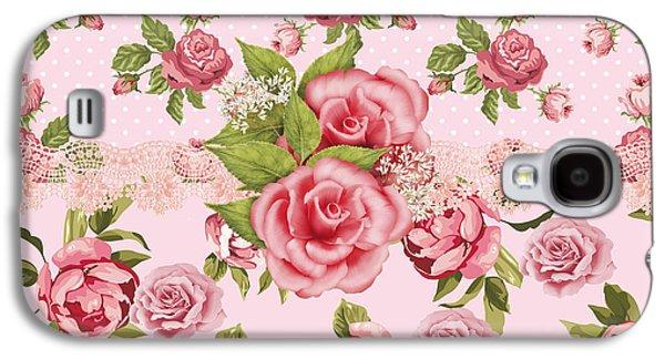 Rose Elegance Galaxy S4 Case by Debra  Miller