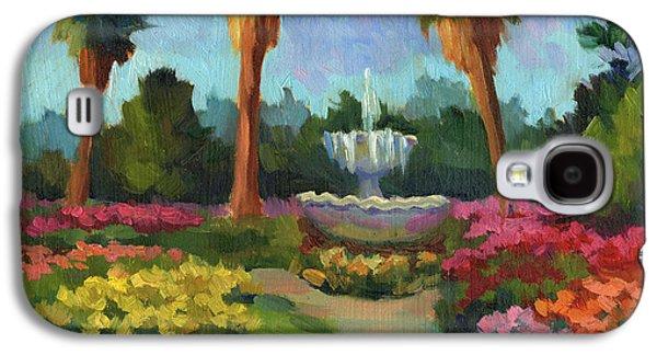 Garden Scene Galaxy S4 Cases - Rose Garden Galaxy S4 Case by Diane McClary