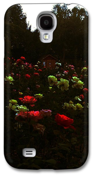 Lucy D Galaxy S4 Cases - Rose Garden Galaxy S4 Case by Lucy D