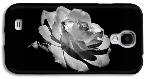 Decor Galaxy S4 Cases - Rose Galaxy S4 Case by Rona Black