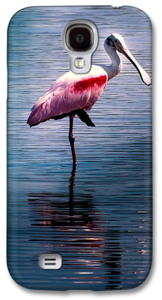 Roseate Spoonbill Galaxy S4 Case by Karen Wiles