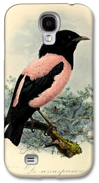 Rosy Starling Galaxy S4 Case by J G Keulemans