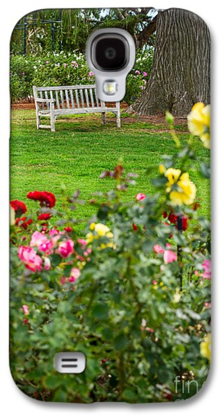 Rosaceae Galaxy S4 Cases - Rosy View - beautiful rose garden of the Huntington Library. Galaxy S4 Case by Jamie Pham