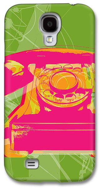 Digital Art Galaxy S4 Cases - Rotary phone Galaxy S4 Case by Jean luc Comperat