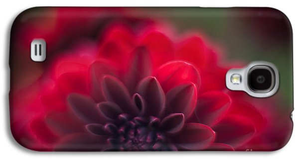 Poetic Galaxy S4 Cases - Rouge Dahlia Galaxy S4 Case by Mike Reid