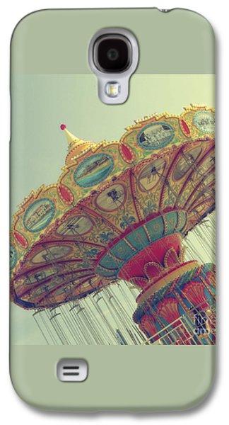 Round N Round We Go... Galaxy S4 Case by Jennifer Ramirez