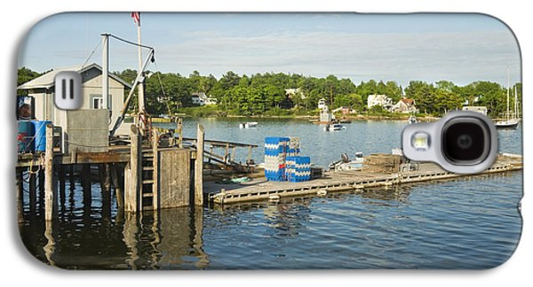Coastal Maine Galaxy S4 Cases - Round Pond on The Coast Of Maine Galaxy S4 Case by Keith Webber Jr