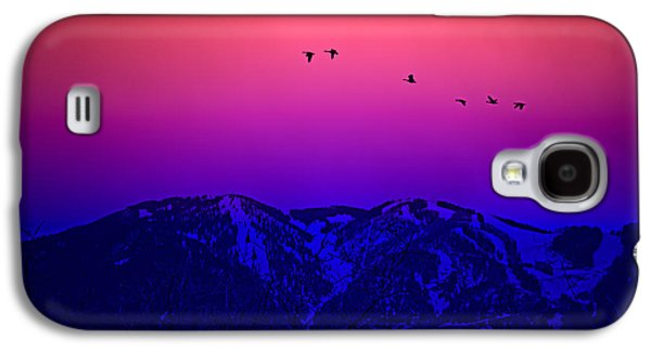 Sunset Abstract Galaxy S4 Cases - Roundabout Galaxy S4 Case by Buffalo Fawn Photography