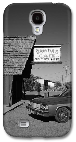 Baghdad Prints Galaxy S4 Cases - Route 66 - Bagdad Cafe 6 Galaxy S4 Case by Frank Romeo