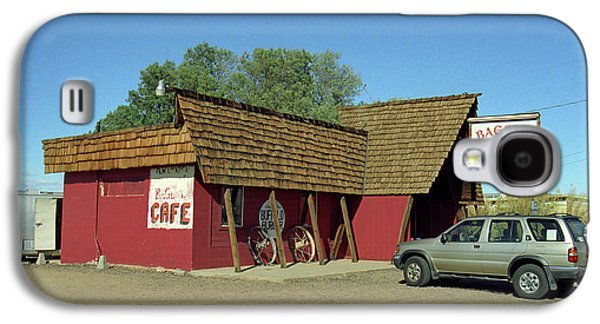 Baghdad Posters Galaxy S4 Cases - Route 66 - Bagdad Cafe Galaxy S4 Case by Frank Romeo