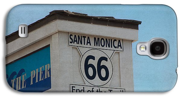 Old Roadway Galaxy S4 Cases - Route 66 - End of the Trail Galaxy S4 Case by Kim Hojnacki