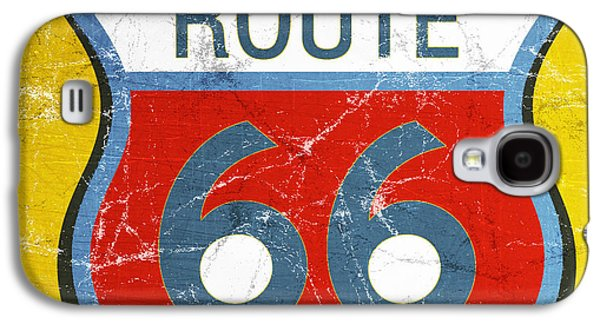Route 66 Galaxy S4 Case by Linda Woods