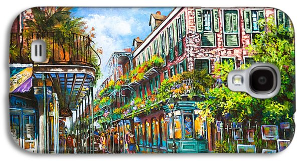 Town Galaxy S4 Cases - Royal at Pere Antoine Alley Galaxy S4 Case by Dianne Parks
