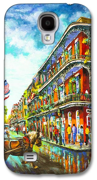French Quarter Paintings Galaxy S4 Cases - Royal Carriage Galaxy S4 Case by Dianne Parks