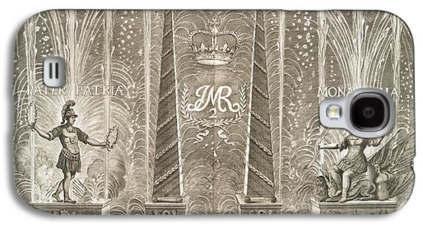 King James Galaxy S4 Cases - Royal Coronation Fireworks, 17th Century Galaxy S4 Case by General Research Division