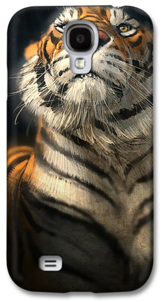 Wildlife Digital Art Galaxy S4 Cases - Royalty Galaxy S4 Case by Aaron Blaise