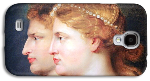 Peter Paul (1577-1640) Galaxy S4 Cases - Rubens Agrippina And Germanicus Galaxy S4 Case by Cora Wandel