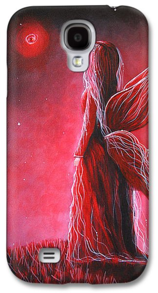 Dreamscape Galaxy S4 Cases - Ruby Fairy by Shawna Erback Galaxy S4 Case by Shawna Erback