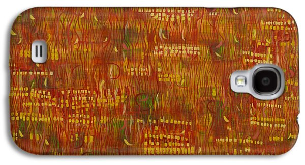 Cellphone Galaxy S4 Cases - Ruby Rise Galaxy S4 Case by Sarah Medway