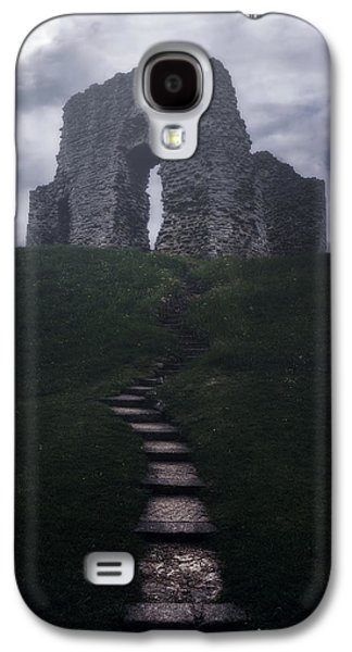 Creepy Galaxy S4 Cases - Ruin Of Castle Galaxy S4 Case by Joana Kruse