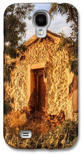 Ancient Galaxy S4 Cases - Ruined Sounion House 8 Galaxy S4 Case by Deborah Smolinske